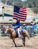 Rodeo-Königin Lizenzfreie Stockfotos