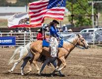 Rodeo-Königin Lizenzfreie Stockfotografie