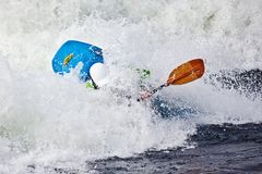 Rodeo kayaking Royalty Free Stock Photo