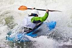 Rodeo kayaking Royalty Free Stock Photos