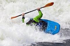 Rodeo kayaking Stock Photo