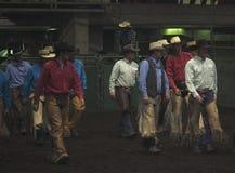 Rodeo kowboje Zdjęcie Royalty Free