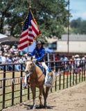 Rodeo królowa Zdjęcia Stock