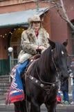 Rodeo królowej chybienie Kolorado fotografia royalty free