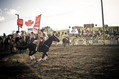 Rodeo och cowboys Arkivbild