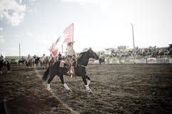 Rodeo och cowboys Arkivfoton