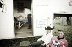 Rodeo och cowboys Royaltyfri Bild