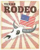 Rodeo poster Stock Images