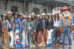 Rodeo-Queens Stockbild