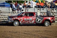 Rodeo Ram Truck Fotografie Stock Libere da Diritti