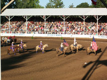 Rodeo riders Stock Photography