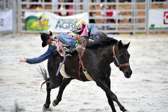 rodeo show Obrazy Royalty Free