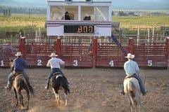 Rodeo w małym viliage Obraz Stock