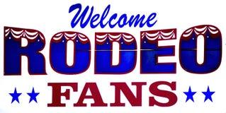rodeo znak Zdjęcie Royalty Free