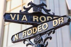 Rodeodr. Royalty-vrije Stock Afbeeldingen