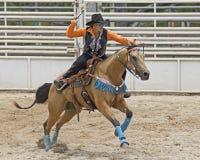 Rodeomanieren Stock Afbeelding