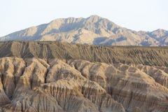 Rodeon och geologiskt vaggar bildande, Argentina royaltyfri fotografi