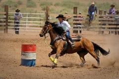 Rodeotrumma Racing Royaltyfri Foto