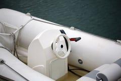 Roder av den moderna oceangående lanseringen Arkivfoto