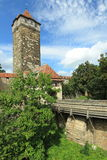 Roder tower in Rothenburg ob der Tauber Royalty Free Stock Photography