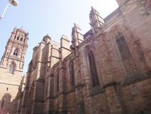 Rodez Cathedral, France Royalty Free Stock Photography