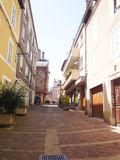 Rodez old street Royalty Free Stock Photography
