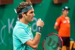 Rodger Federer Imagem de Stock Royalty Free