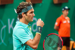 Rodger Federer Immagine Stock Libera da Diritti
