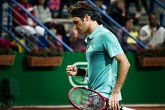 Roger Federer. In ATP250 Istanbul Open 27 April - 3 May 2015 at Garanti Koza Arena Stock Photos