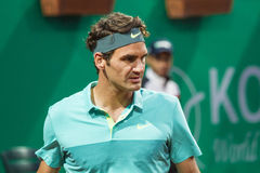 Roger Federer. In ATP250 Istanbul Open 27 April - 3 May 2015 at Garanti Koza Arena Stock Photography