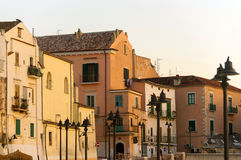 Rodi Garganico (Apulia, Italy) - Old Buildings Stock Image