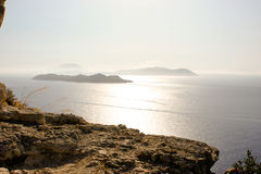 Rodi. La Grecia. Isola. Fotografia Stock