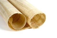Rodillo 2 del papiro Foto de archivo libre de regalías