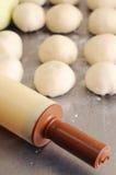 Rodillo bakering sucio Fotos de archivo libres de regalías