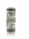 Rodillo dólar americano imagen de archivo
