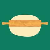 Rodillo de la cocina Foto de archivo libre de regalías