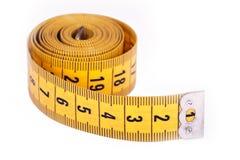 Rodillo de medición de la cinta Fotos de archivo libres de regalías