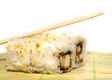 Rodillo de sushi picante del atún Fotografía de archivo