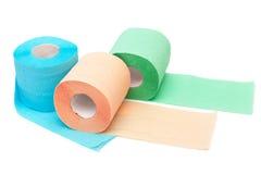 Rodillo de un papel higiénico Fotos de archivo libres de regalías