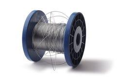 Rodillo del alambre de acero Imágenes de archivo libres de regalías