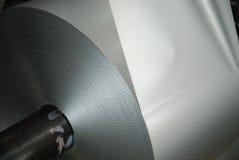 Rodillo del aluminio Fotos de archivo libres de regalías