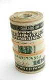 Rodillo del dinero Fotografía de archivo