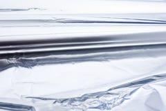 Rodillo del papel de aluminio Imágenes de archivo libres de regalías