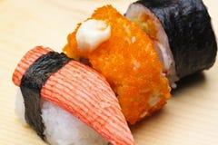 Rodillo del sushi Fotos de archivo
