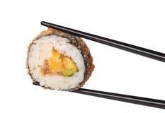 Rodillo del sushi Foto de archivo