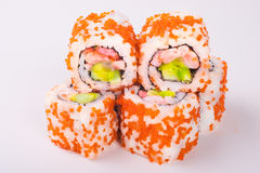 Rodillo del sushi Fotos de archivo libres de regalías