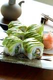 Rodillo del sushi Fotografía de archivo libre de regalías