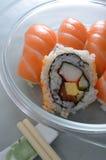 Rodillo del sushi Imagenes de archivo