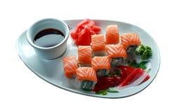 Rodillo del sushi Imágenes de archivo libres de regalías