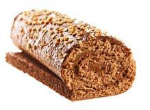 Rodillo dulce de la torta Foto de archivo libre de regalías